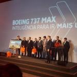 De blog para blog: Gol apresenta Boeing 737 Max em evento em Congonhas
