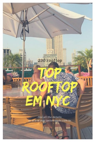 230 Fifth Rooftop em Nova York