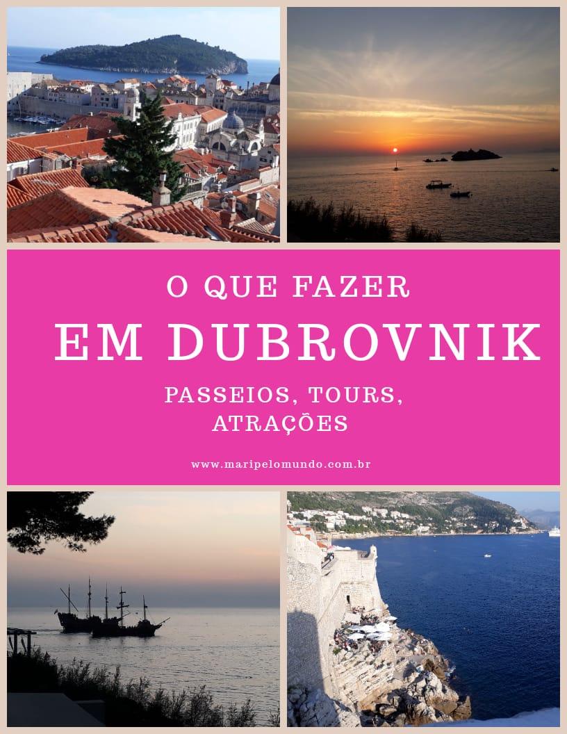 O que ver e fazer em Dubrovnik