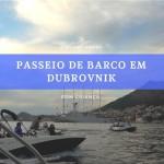 Passeio de barco em Dubrovnik com criança