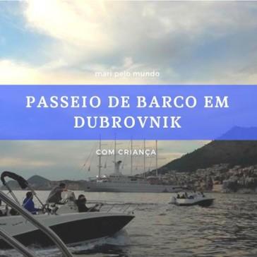 Passeio de Barco em Dubrovnik