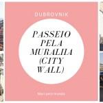 Passeio pela Muralha de Dubrovnik com criança