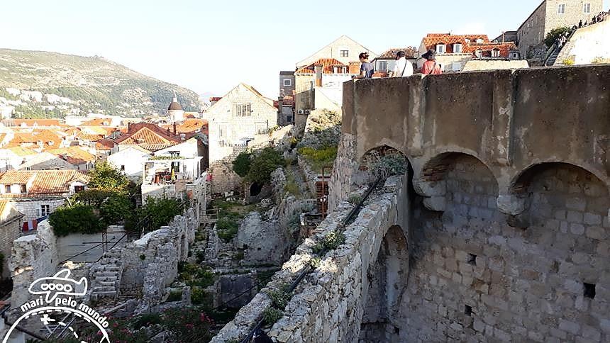 Passeio pela Muralha de Dubrovnik (2)