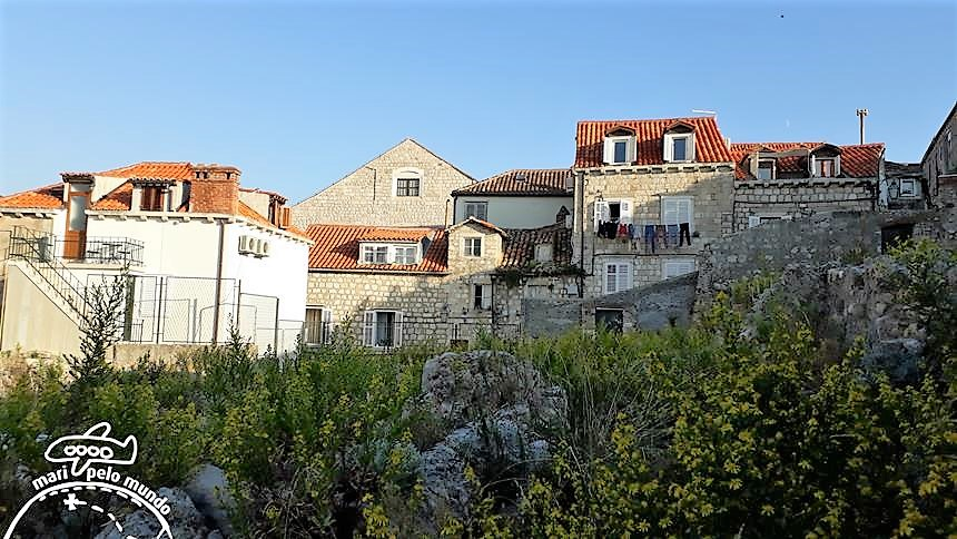 Passeio pela Muralha de Dubrovnik - Residencias