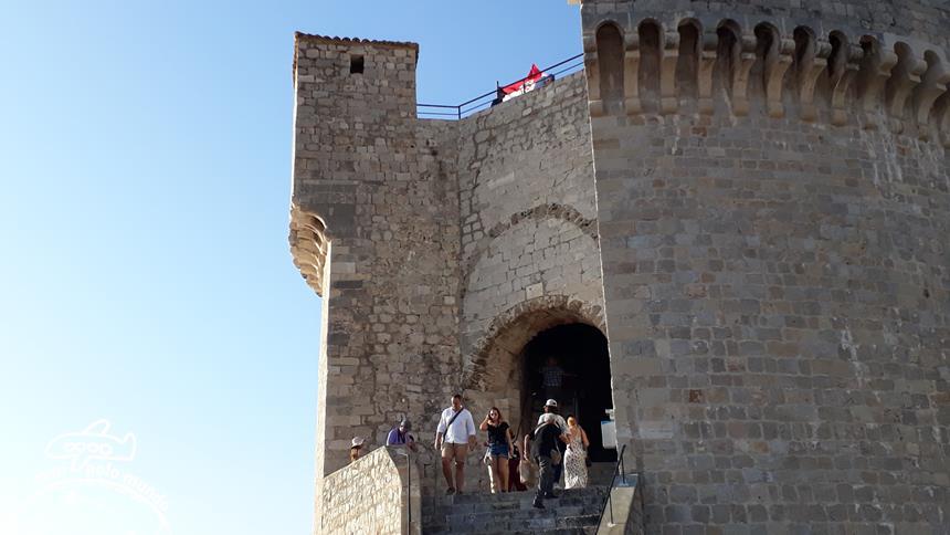 Passeio pela Muralha de Dubrovnik - Torre