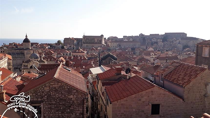 Passeio pela Muralha de Dubrovnik