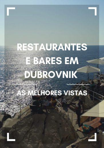 Restaurantes e Bares em Dubrovnik