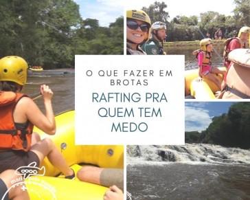 Rafting em Brotas para quem tem medo