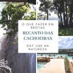 Parque Natural em Brotas: Recanto das Cachoeiras