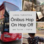 Ônibus Hop-On Hop-Off em Turim