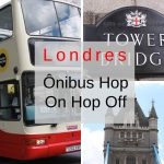Londres com o ônibus Hop-on Hop-off