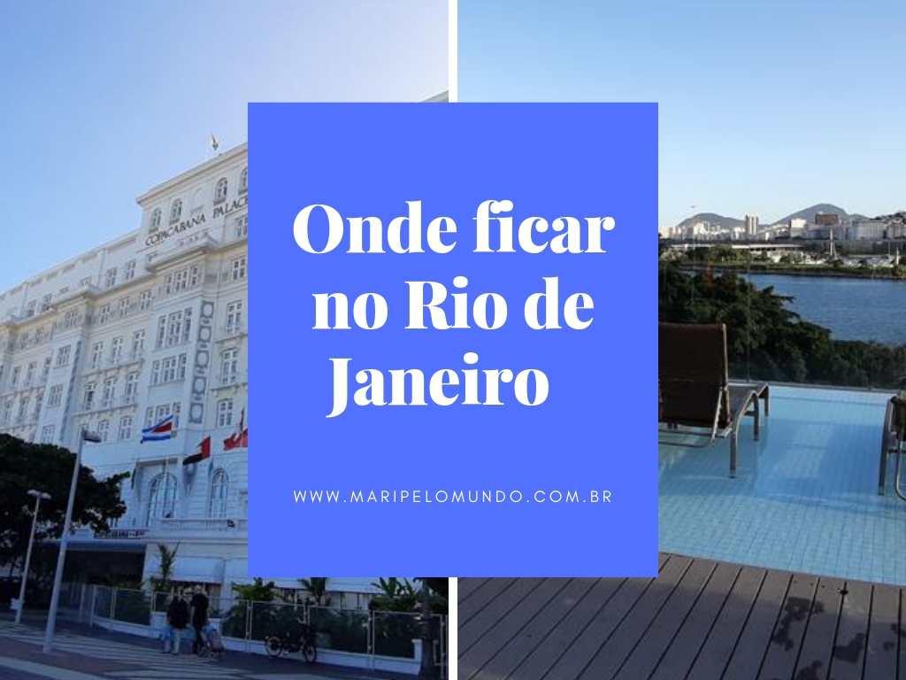 Onde ficar no Rio de Janeiro perto do Aeroporto