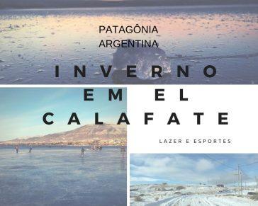Inverno na patagônia - PATINS NO GELO EM EL CALAFATE