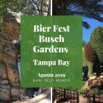 Festival de cerveja no Busch Gardens