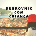 Dubrovnik com criança