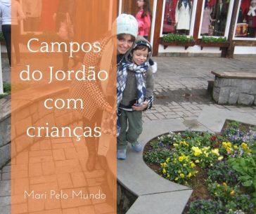 Campos do Jordao com crianças