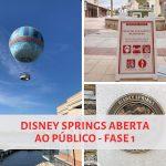 Disney Springs volta a receber visitantes