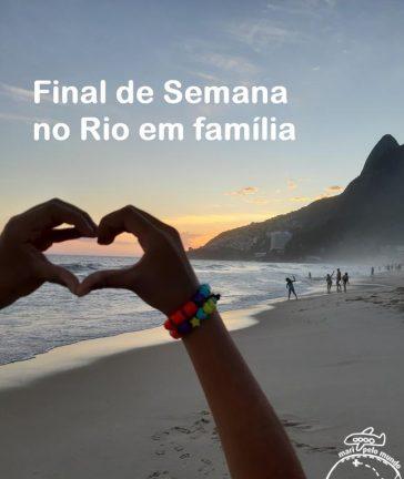 final de semana no Rio de Janeiro