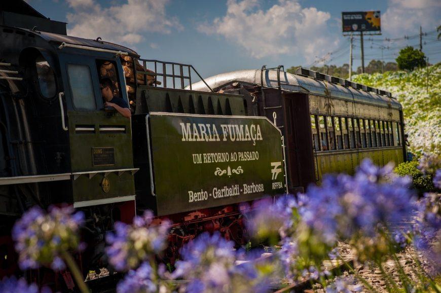 Trem Maria Fumaça Bento Gonçalves