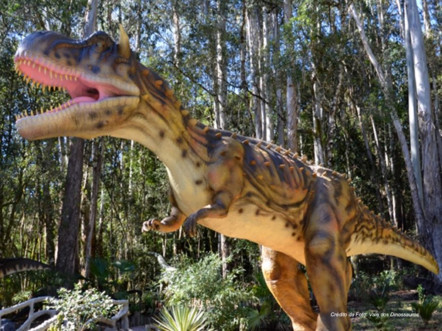 Vale dos Dinossauros - Gramado e Canela com crianças